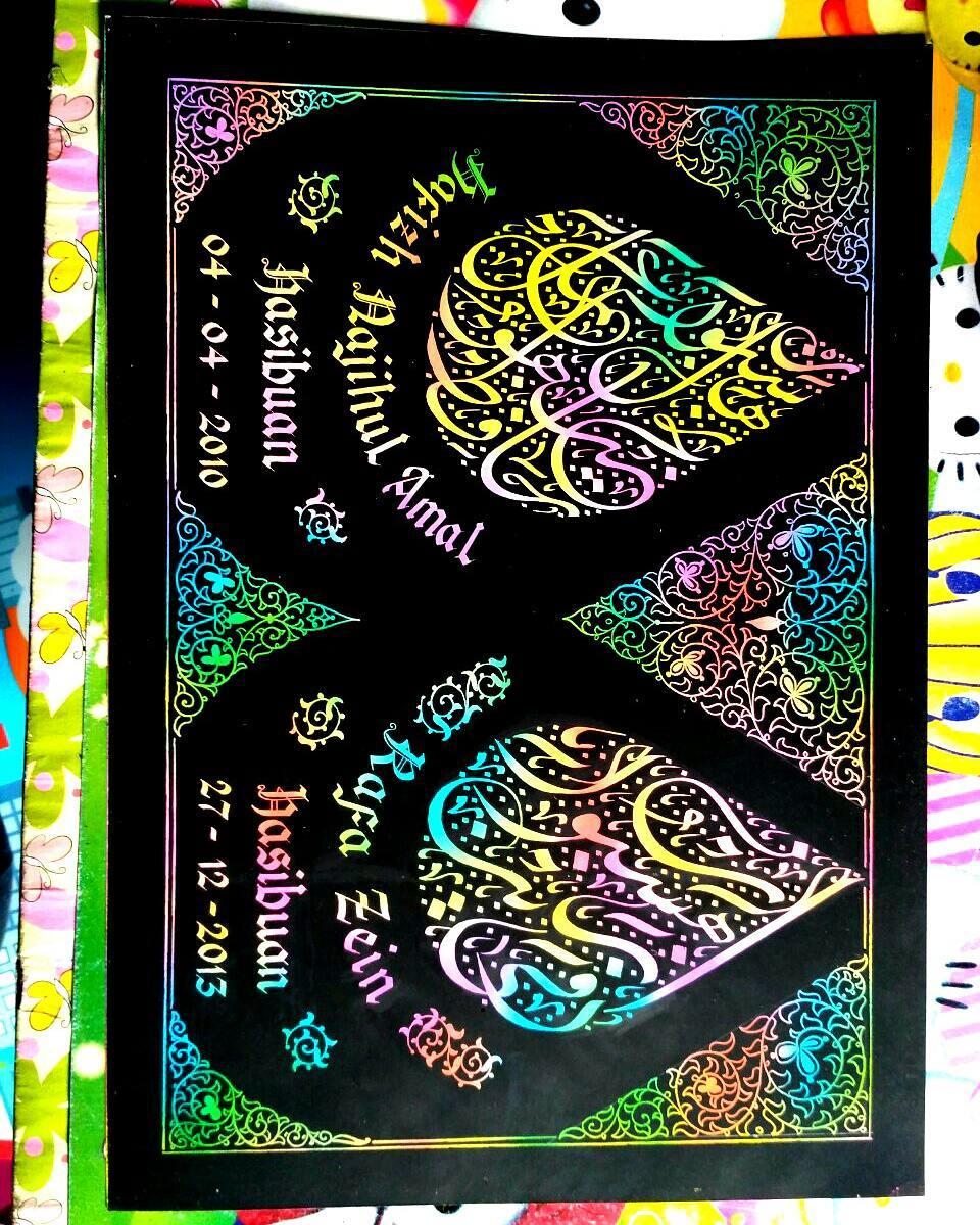 Works Calligraphy Taufik Hasibuan … 25