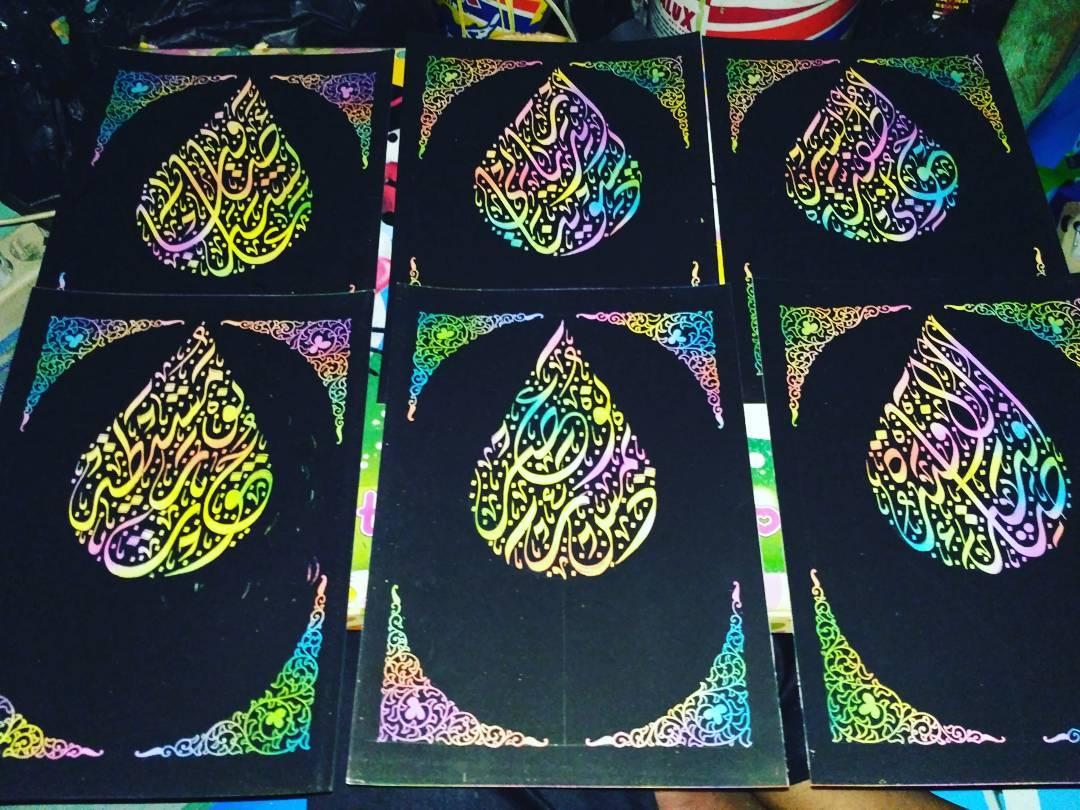 Works Calligraphy Taufik Hasibuan Hasil lembur…..  For order  Hp/wa 085213984866 Bbm d2d74907… 31