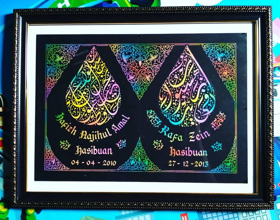 Works Calligraphy Taufik Hasibuan Silah kn yg minat lg.   085213984866  D2d74907… 31