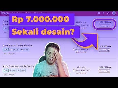 Download Video 6 tempat untuk menghasilkan uang dari desain grafis di Indonesia