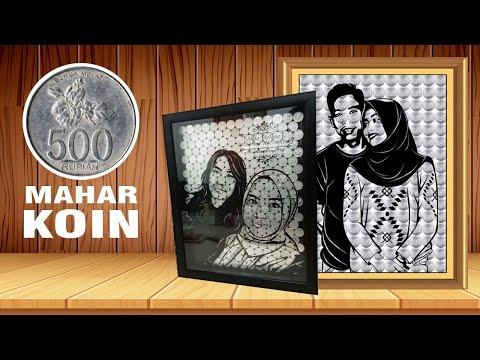 Download Video Cara Membuat Mahar Koin dengan sticker Transparan