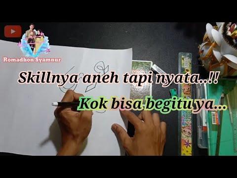 Download Video Cara menulis dan mewarnai kaligrafi 3d | belajar kaligrafi Arab lafadz Aid Mubarak