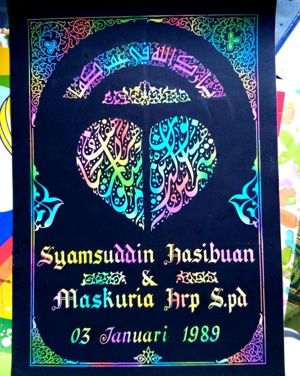 Works Calligraphy Taufik Hasibuan … 32