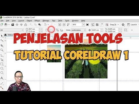 Download Video Pengenalan Tools dan Penjelasan Interface Coreldraw | Tutorial CorelDraw untuk  Pemula Part 1