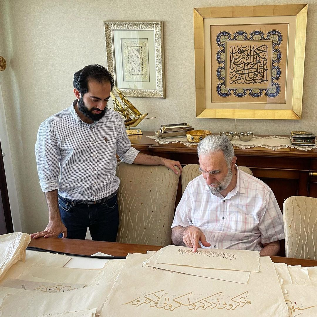 Karya Kaligrafi قد سافرت مع عائلتي الصغيرة الى تركيا ترويحا للنفس خاصة بعد اوضاع كورونا المتقلبة…- jasssim Meraj