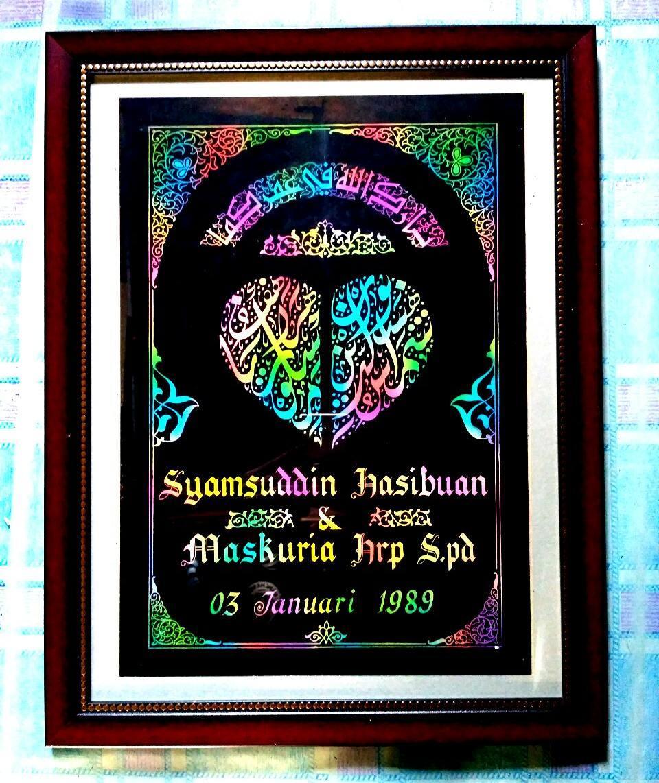 Works Calligraphy Taufik Hasibuan Open order…. Monggo… … 12