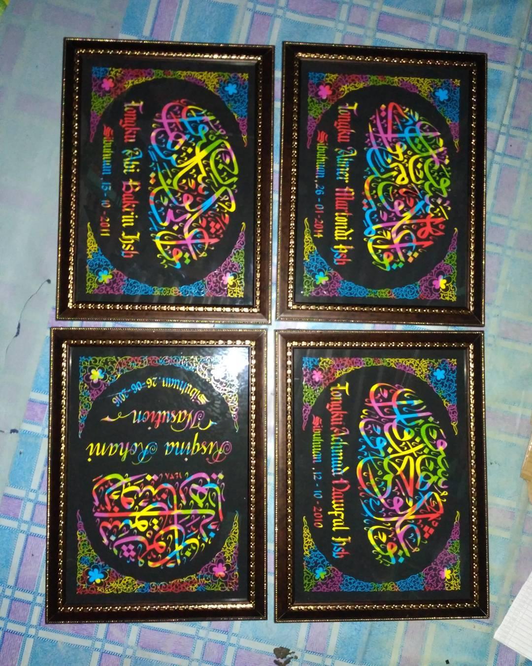 Works Calligraphy Taufik Hasibuan Mana tau ada yg minat lg… Bisa hubungi langsung…. 085213984866 Pin d2d74907… 29