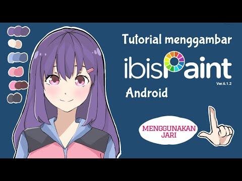 Download Video Tutorial Menggambar di Ibis Paint X untuk Pemula ( no trace )