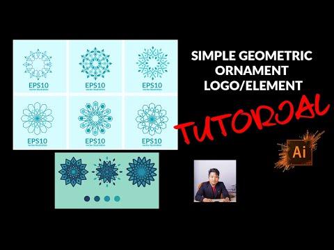 Download Video Tutorial cara mudah buat Islamic geometric ornament elemen (Bahasa Melayu)