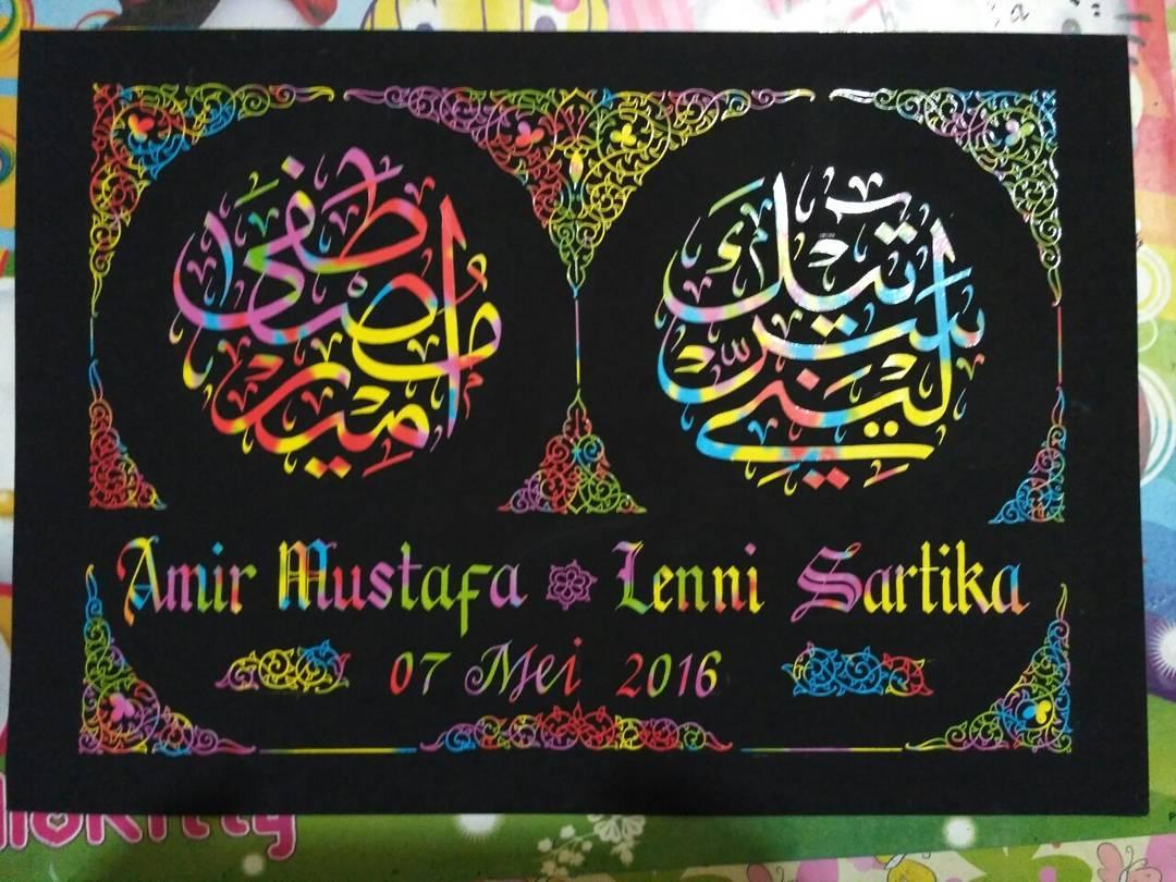 Works Calligraphy Taufik Hasibuan Minat…. Inbox ya……. 32