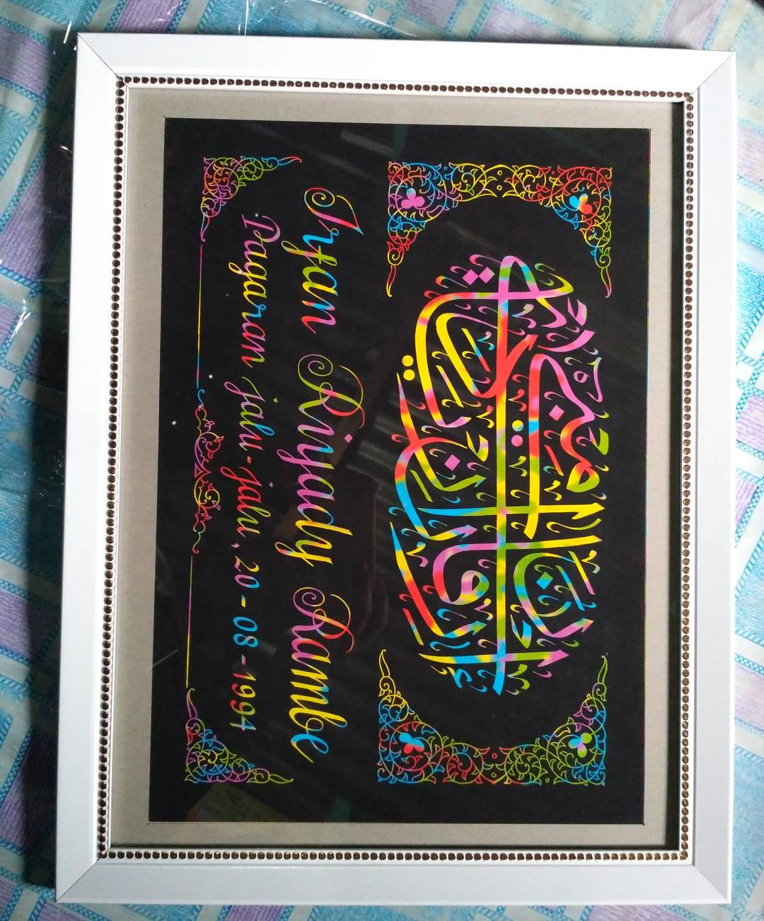 Works Calligraphy Taufik Hasibuan Minat hubungi ok…. … 27