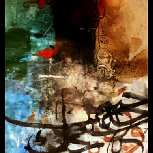 khat/hat/kat Tsulust/Thuluth Mothana Alobaydi #islamic #art #arabic #calligraphy #art #design #abstract #abstractart #modern #… 80