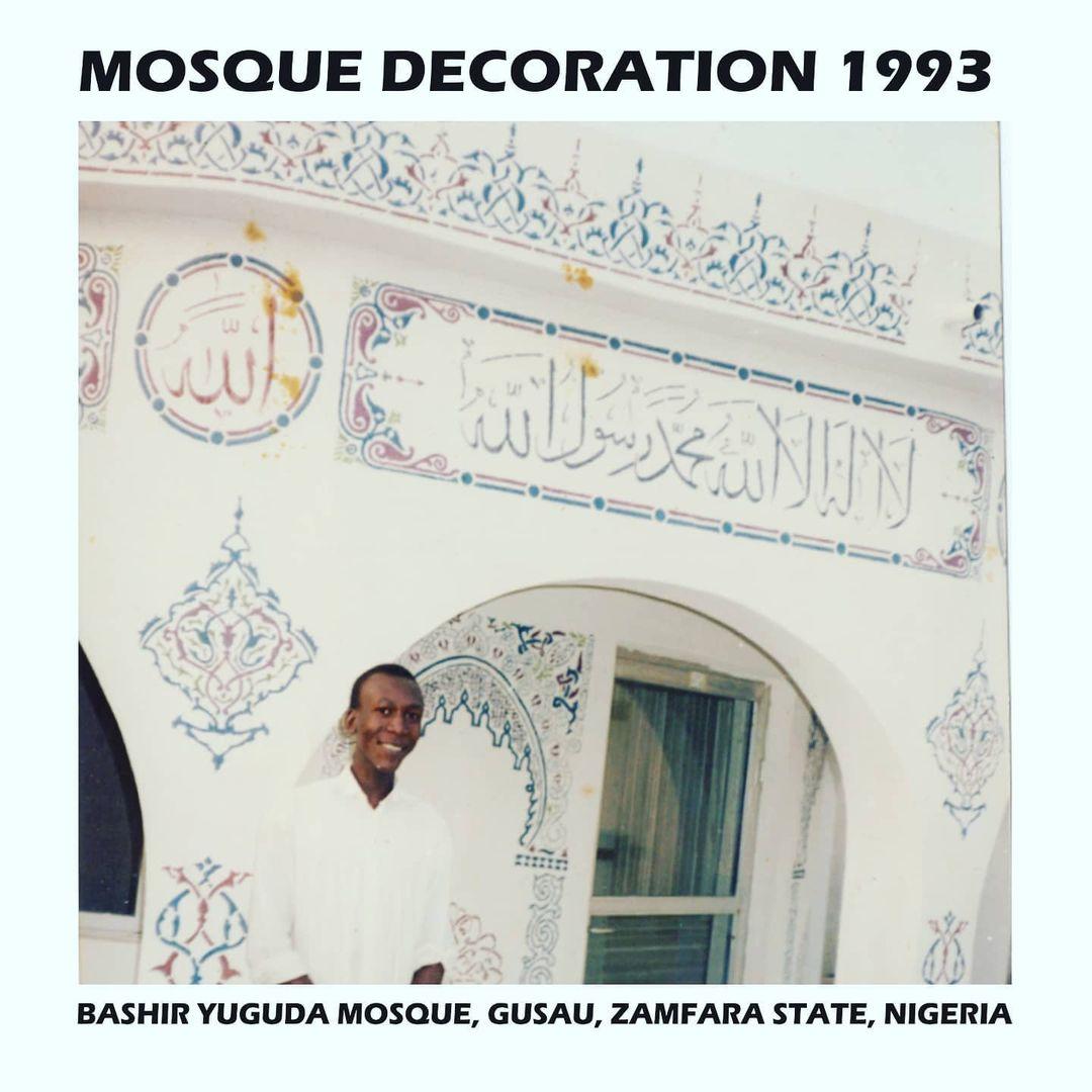 Donwload Photo Khat Unik Mosque calligraphic decoration as self taught Artist… – Yushaa Abdullah