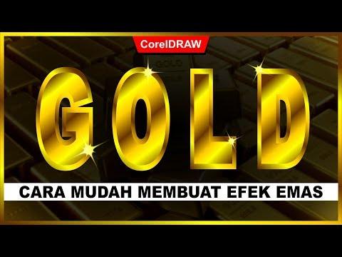 Download Video Cara Membuat Efek GOLD dengan CorelDraw – Tutorial CorelDraw